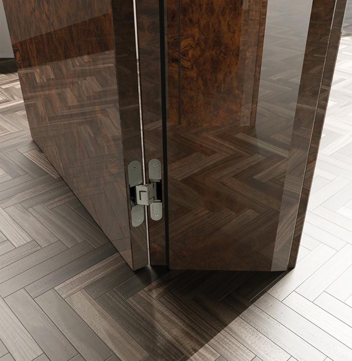 ergonómia interiérových dverí Hanák